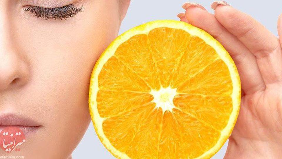 تاثیر ترکیبات ویتامین C بر روی پوست چیست؟