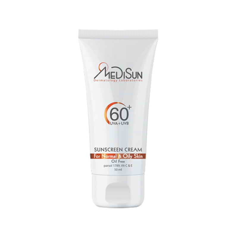 آفتاب 60 بی رنگ مدیسان - Medisun Non-tinted Sunscreen Cream SPF60