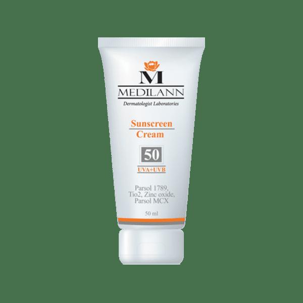 50 1 600x600 - کرم ضد آفتاب SPF50 مدیلن