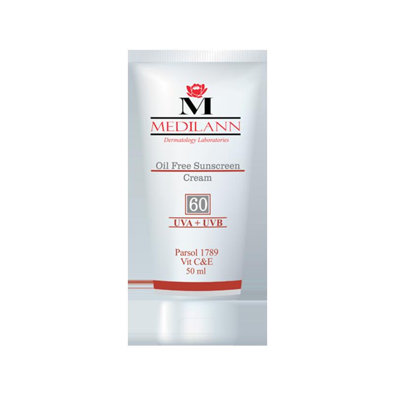 60 1 - Medilann Oil Free Sunscreen Cream SPF60