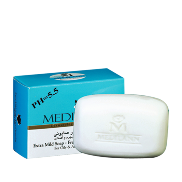 pan oily 1 600x600 - Medilann Soap-free Cleansing Syndet Bar for Oily and Acne Prone Skin